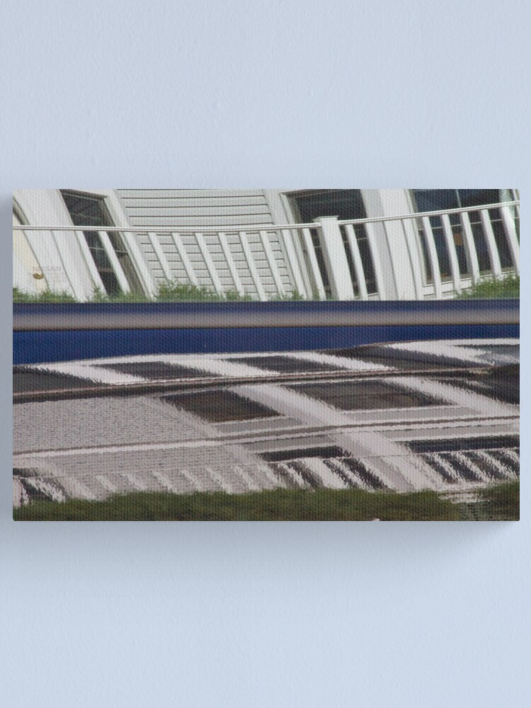 Alternate view of Condo Car Canvas Print