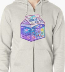 Milky Way Milk Carton Zipped Hoodie