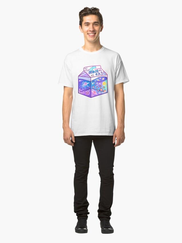 Alternate view of Milky Way Milk Carton Classic T-Shirt