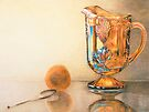Mom's Ornage Juice Pitcher by Charlotte Yealey
