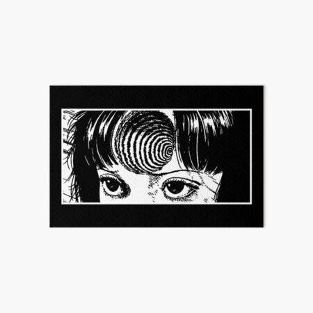Spiral girl Art Board Print