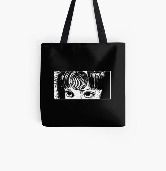 Spiral girl All Over Print Tote Bag