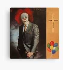 Clowning with God Canvas Print