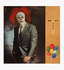 Clowning with God Photographic Print