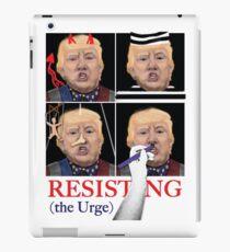 Resisting the Urge iPad Case/Skin