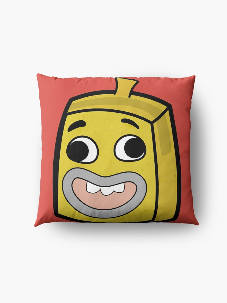 Alternate view of Banana Joe - The Amazing World of Gumball Boxheadz Floor Pillow