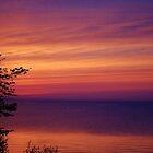 Sunset on Lake Erie by Jenna Jade