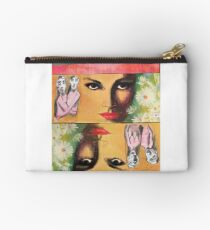 Two Sides of Eve Zipper Pouch