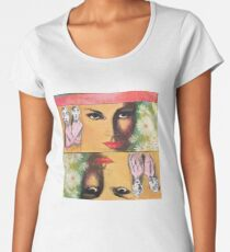 Two Sides of Eve Premium Scoop T-Shirt
