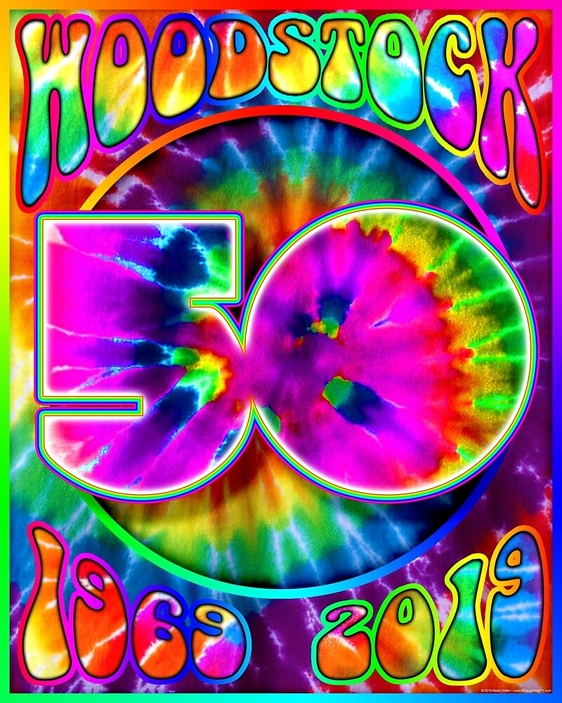 Woodstock 50th Anniversary Poster Design II by BLTV