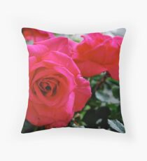 Bloodflowers Throw Pillow