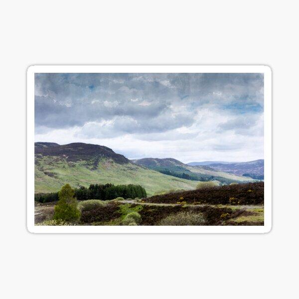 The Highlands Sticker