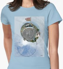 Glencolmcille - the man who missed the bus Women's Fitted T-Shirt