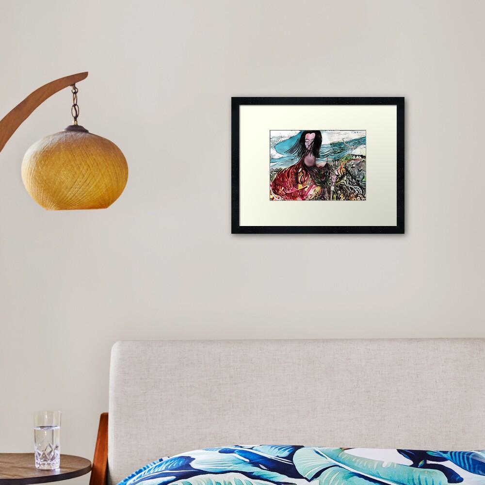 Come Apart Framed Art Print