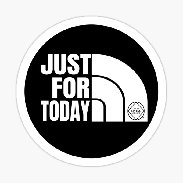 Just For Today Narcotics Anonymous NA Gift Sticker