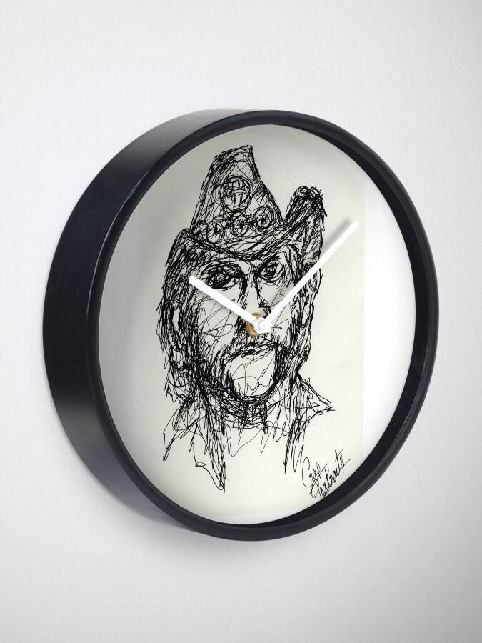 Vista alternativa de Reloj Lemmy de Motorhead - Dibujo de Monoline