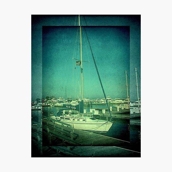 Lake Michigan Pier ©  Photographic Print