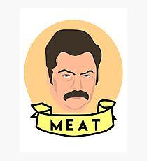 Meat Photographic Print