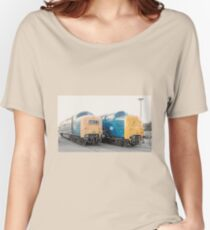 British Rail Deltic. Women's Relaxed Fit T-Shirt