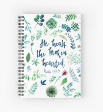 Psalm 147:3 Spiral Notebook