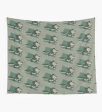 Chibi Wolf Link Wall Tapestry