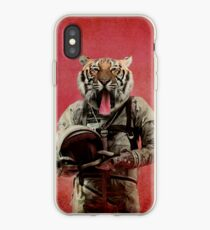 Space tiger iPhone Case