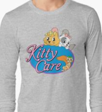 Kitty Care logo Long Sleeve T-Shirt