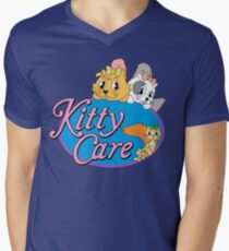 Kitty Care logo V-Neck T-Shirt