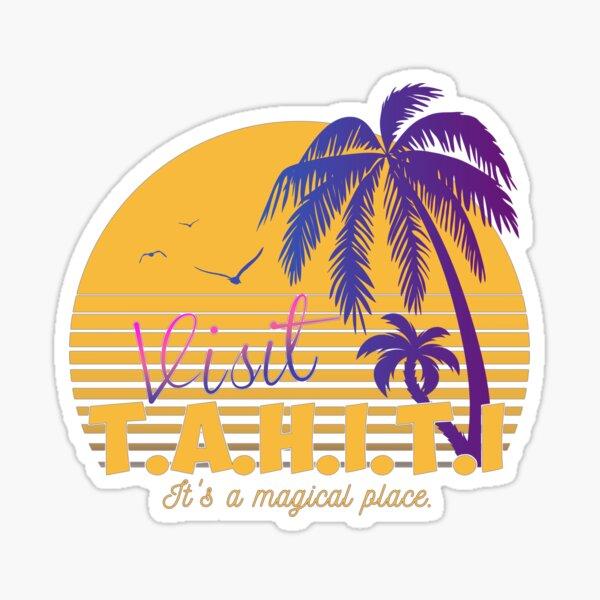 Magical Tahiti AOS Sheild Sticker