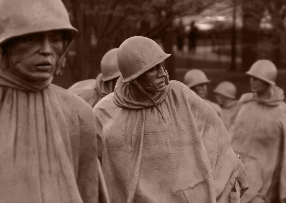 Washington D.C. - Korean War memorial by DKphotoart