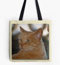 Marmaduke the Marmalade Cat  Tote Bag