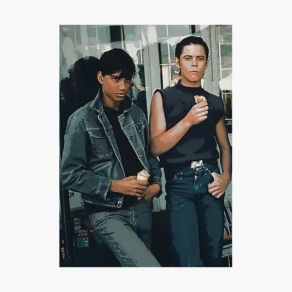 The Outsiders, Greaser, Greasers, Pony Boy, Ponyboy Curtis, C Thomas Howell, Stay Gold, Do it for Johnny, Johnny Cade, Ralph Macchio, Karate Kid Photographic Print