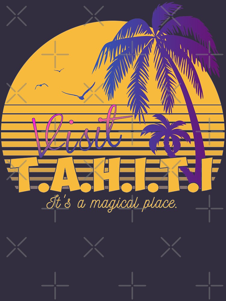 Magical Tahiti AOS Sheild by ActiveNerd