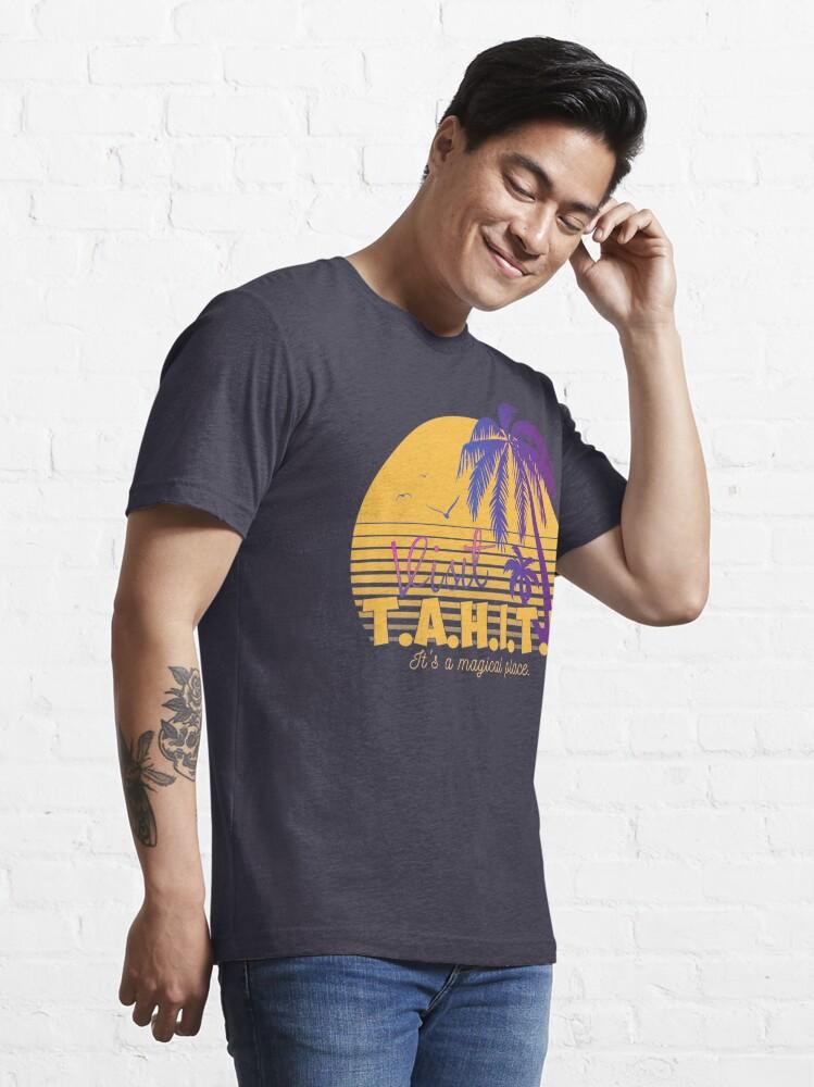 Alternate view of Magical Tahiti AOS Sheild Essential T-Shirt