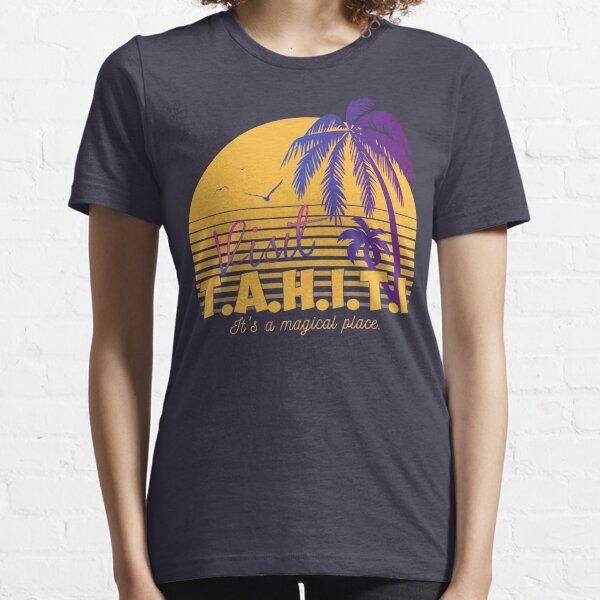 Magical Tahiti AOS Sheild Essential T-Shirt