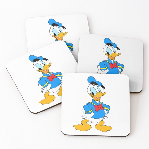 Classic Donald Duck Coasters (Set of 4)