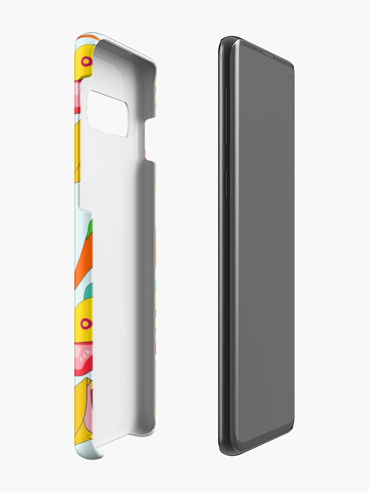 Alternate view of Burraco Fest Case & Skin for Samsung Galaxy