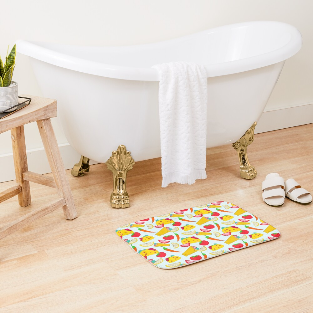 Burraco Fest Bath Mat
