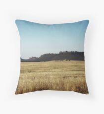 Tabletop Mountains  Throw Pillow