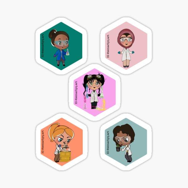 We are Scientists - Hex Sticker Sticker