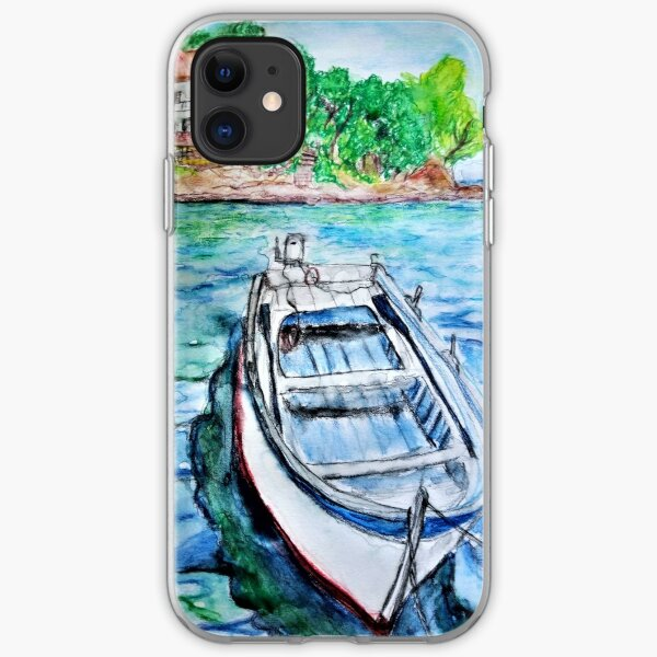 SEASIDE IN CROATIA  iPhone Soft Case