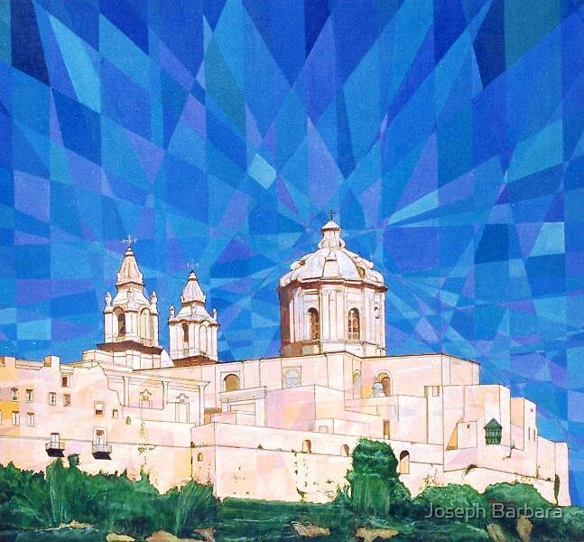 Mdina,Old City- Malta by Joseph Barbara
