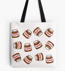 Bolsa de tela Lindo patrón Tumblr Nutella