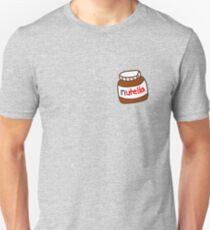 Camiseta ajustada Lindo patrón Tumblr Nutella