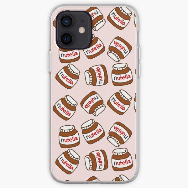 Cute Tumblr Nutella Pattern iPhone Soft Case