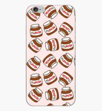 Cute Tumblr Nutella Pattern iPhone Case