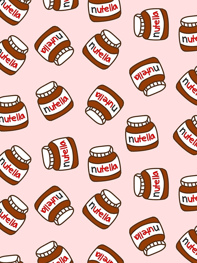 Cute Tumblr Nutella Pattern by deathspell