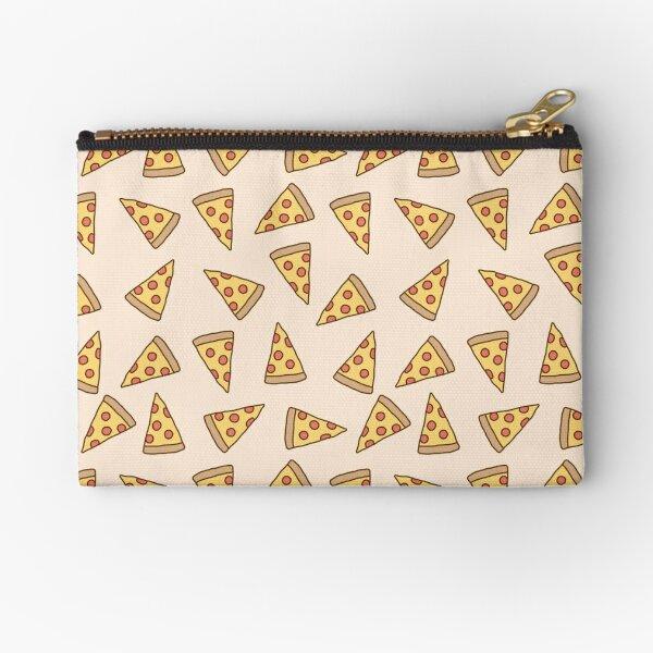 Cute Tumblr Pizza Pattern Zipper Pouch