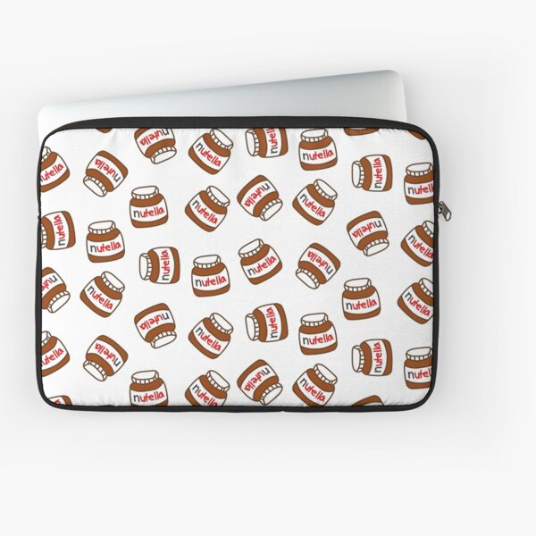 Cute Tumblr Nutella Pattern Laptop Sleeve