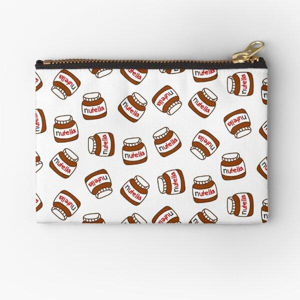 Cute Tumblr Nutella Pattern Zipper Pouch